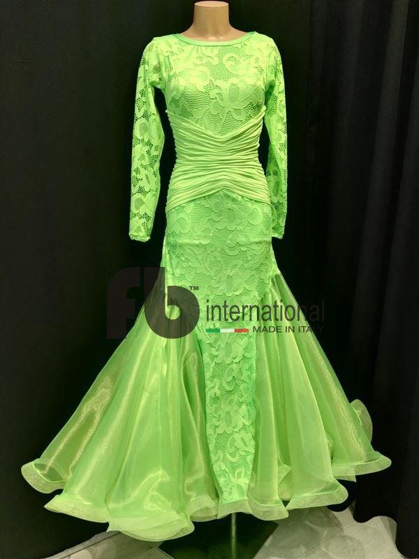 Fluo green dress
