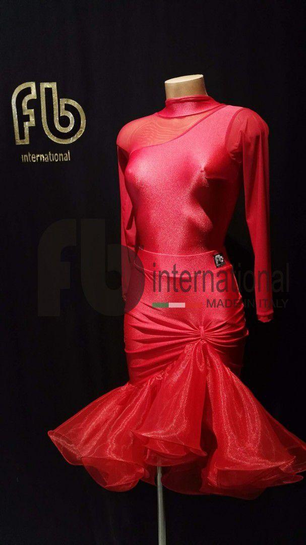 Flora leotard and Iris skirt