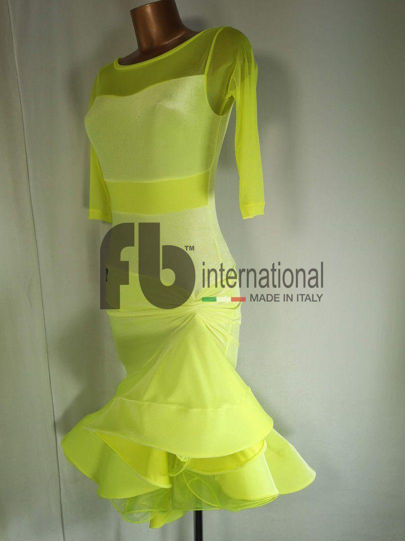 Yellow On Off dress