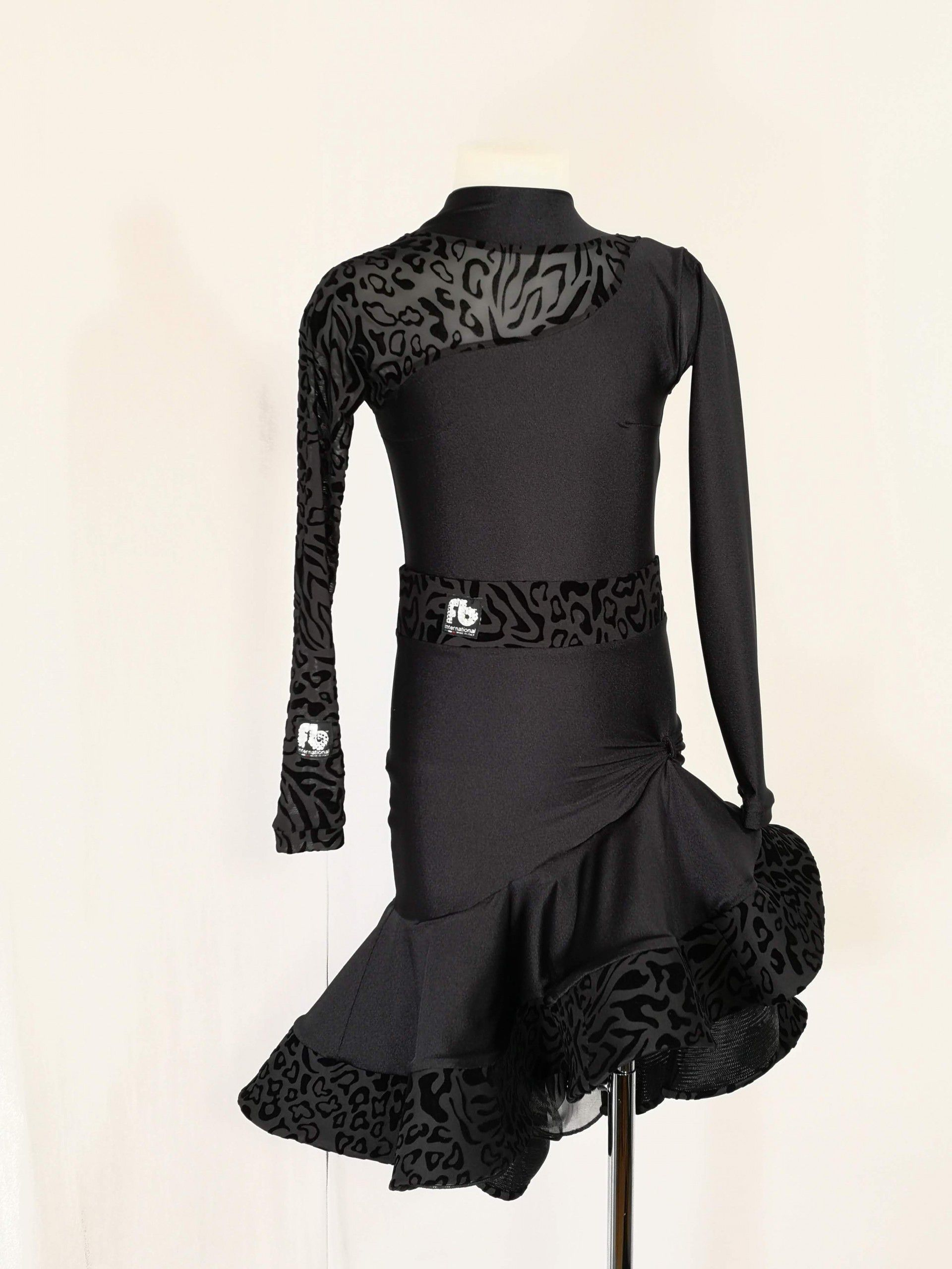 Girl black dress