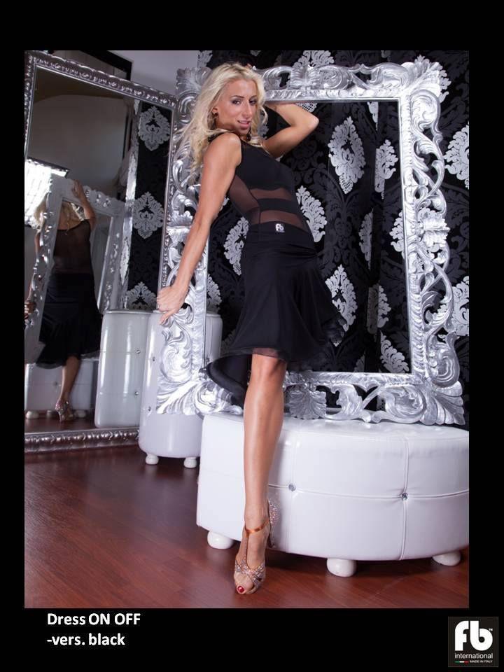 Black On Off dress