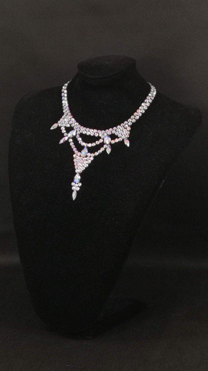 Rhinestones necklace 1